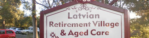 Latvian Retirement Village & Aged Care