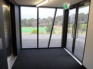 Eltham College External Lift