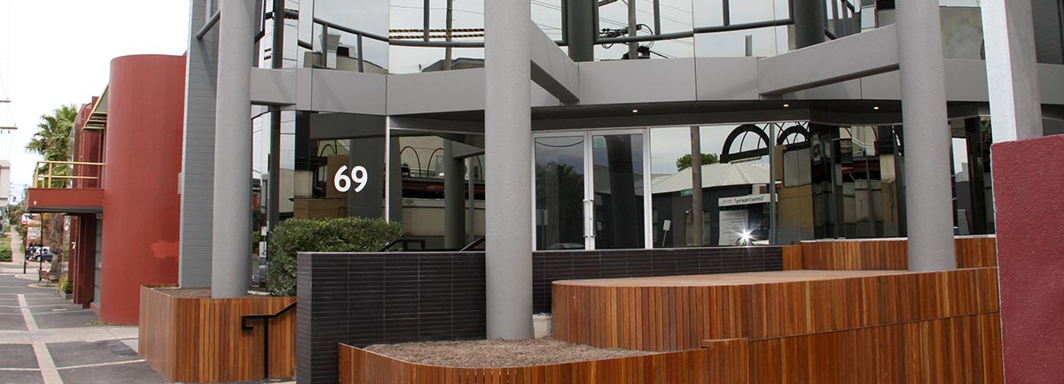 kooyong road office block refurbishment